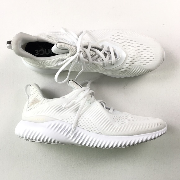 6ff96405f12df Adidas Men s Alpha Bounce White 14 ART BY4426